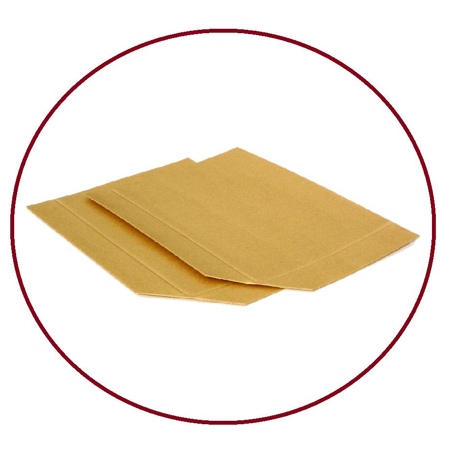 slip sheet z kraftového papíru